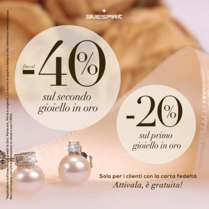 -40% sul secondo gioiello, -20% sul primo gioiello: | CremonaPo