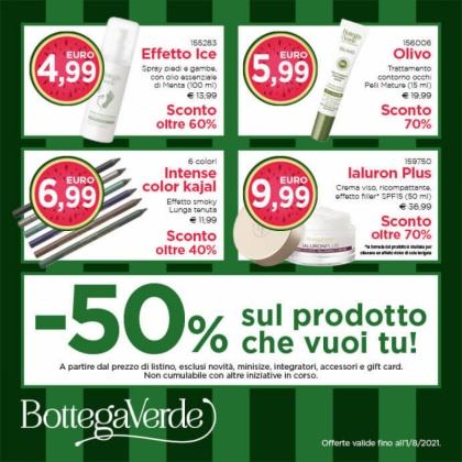 Saldi Bottega Verde | CremonaPo