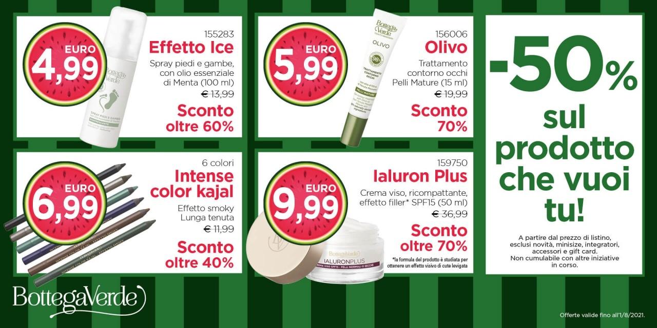 Saldi Bottega Verde | Offerte | CremonaPo