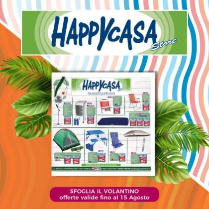 Offerta Volantino Happy Casa Store | CremonaPo