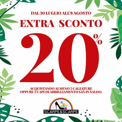 Extra Sconto Scarpe&Scarpe | CremonaPo
