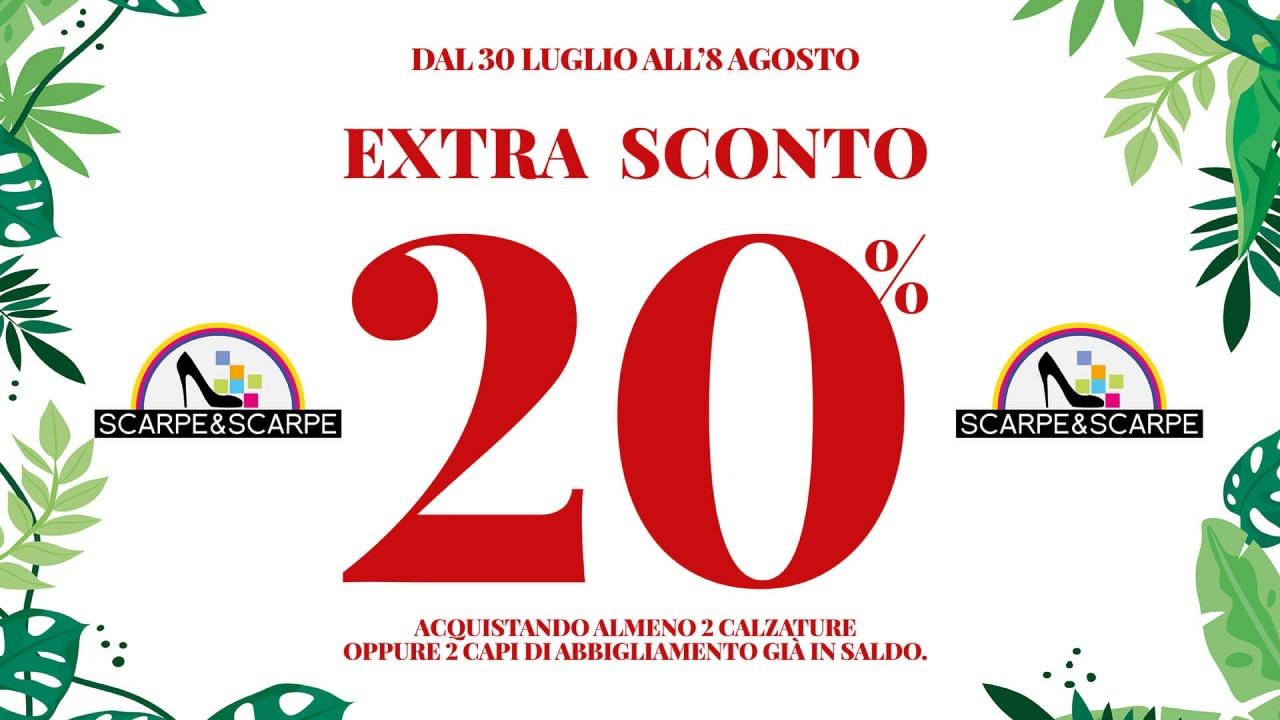 Extra Sconto Scarpe&Scarpe | Offerte | CremonaPo