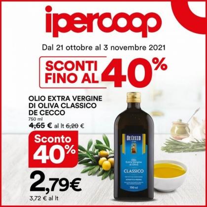 Olio Extra vergine di Oliva Classico De Cecco | CremonaPo
