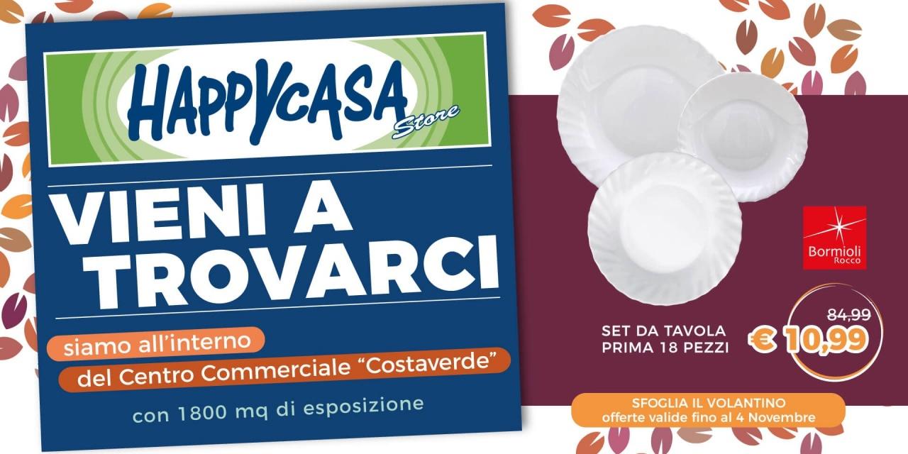Offerta Volantino Happy Casa Store | Offerte | CremonaPo